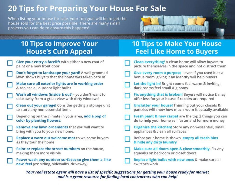 20 Tips for Preparing Your House for Sale Picture